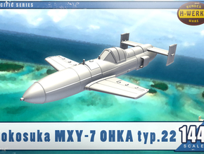 1/144th - Ohka type 22 suicide bomb in Smooth Fine Detail Plastic