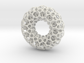 first torus entrelace. in White Strong & Flexible
