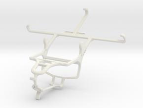 Controller mount for PS4 & Alcatel Flash Plus in White Natural Versatile Plastic