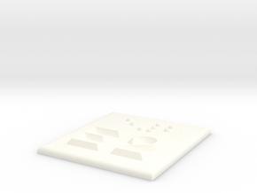 E2 in White Processed Versatile Plastic