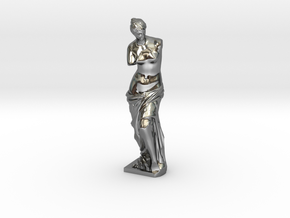 Venus de Milo in Fine Detail Polished Silver