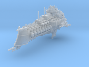 Dominator class cruiser in Frosted Ultra Detail