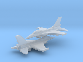 1/350 F-16C Viper (x2) in Smooth Fine Detail Plastic