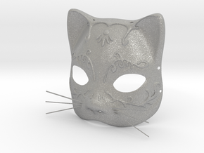 Splicer Mask Cat (Womens Size) in Aluminum