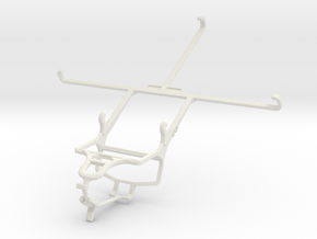Controller mount for PS4 & Jolla Tablet in White Natural Versatile Plastic