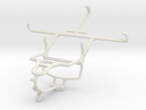 Controller mount for PS4 & Lenovo S860 in White Natural Versatile Plastic