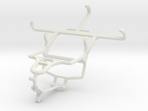 Controller mount for PS4 & LG G2 mini LTE in White Natural Versatile Plastic