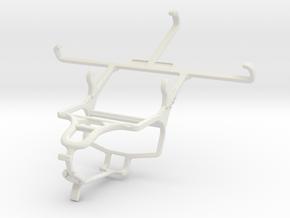 Controller mount for PS4 & LG G3 (CDMA) in White Natural Versatile Plastic