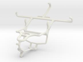 Controller mount for PS4 & Meizu m2 in White Natural Versatile Plastic