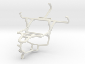 Controller mount for PS4 & Micromax A28 Bolt in White Natural Versatile Plastic