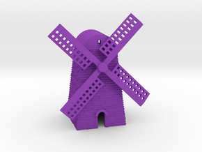 Windmill in Purple Strong & Flexible Polished