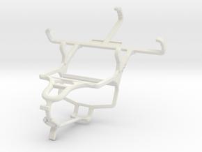 Controller mount for PS4 & NIU Niutek 3.5D2 in White Natural Versatile Plastic