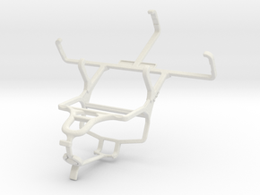 Controller mount for PS4 & Samsung Galaxy Camera 2 in White Natural Versatile Plastic