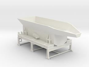 1/50th Crusher feed hopper screen plant in White Natural Versatile Plastic
