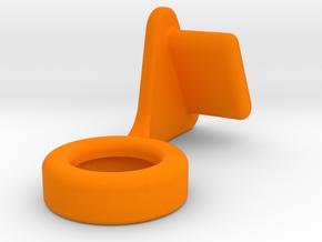 U140 Hook - Rev1 in Orange Strong & Flexible Polished