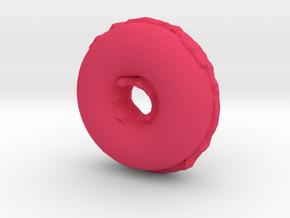 Donut in Pink Processed Versatile Plastic