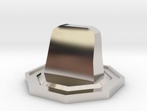 Tombstone Token in Platinum