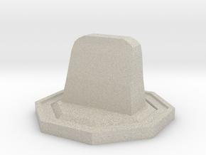 Tombstone Token in Natural Sandstone