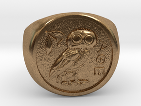 Tetradrachm in Natural Brass