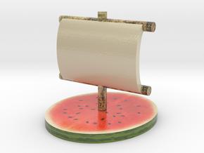Melon Fleet in Coated Full Color Sandstone
