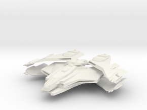 Imperial Class Refit HvyDestroyer in White Natural Versatile Plastic