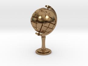 World Sculpture in Natural Brass