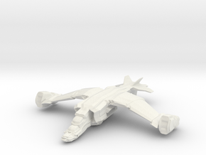 Grendel Transport, 6mm in White Natural Versatile Plastic