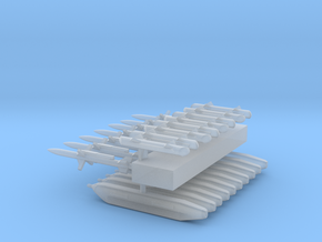 1:350 Scale EA-18G Growler Conversion Set in Smooth Fine Detail Plastic