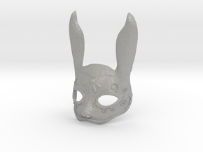 Splicer Mask Rabbit (Mens Size) in Aluminum
