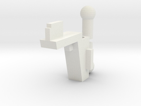 SFC - Handle Adapter And Ball Pegs in White Natural Versatile Plastic