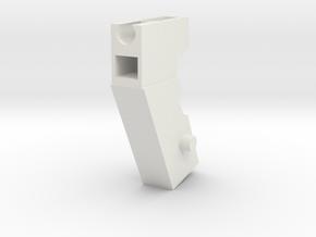 Handle Adapter (Shockblaster) for Nonnef Hands in White Natural Versatile Plastic