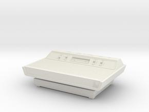 1:6 Atari 2600 (Wood Grain) in White Natural Versatile Plastic