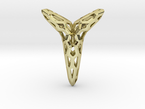 YOUNIVERSAL Honey, Pendant in 18k Gold Plated Brass