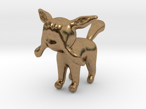 Glaceon in Natural Brass