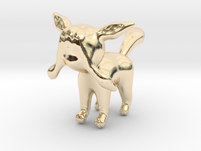 Glaceon in 14K Yellow Gold