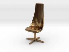 TOS 2.0 Chair - 1/32 Bridge Model in Natural Brass