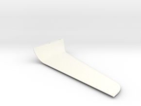 Winglet-right-10-001 in White Strong & Flexible Polished