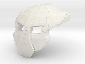 Mask of Growth in White Natural Versatile Plastic
