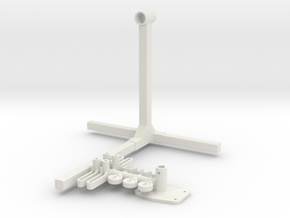 1/8 Engine Stand in White Strong & Flexible