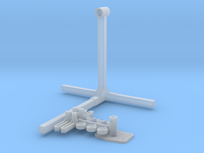 1/24 Engine Stand in Smoothest Fine Detail Plastic
