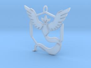 Pokemon GO: Team Mystic Pendant in Smooth Fine Detail Plastic