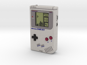 1:6 Nintendo Gameboy (On) in Full Color Sandstone