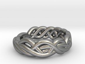 Ring 16.9mm in Natural Silver