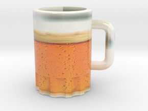 Beer in Glossy Full Color Sandstone