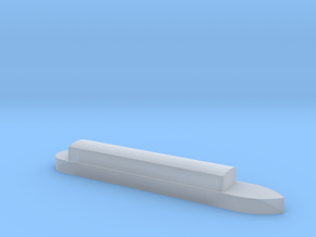 1/450 Canal Boat in Smooth Fine Detail Plastic