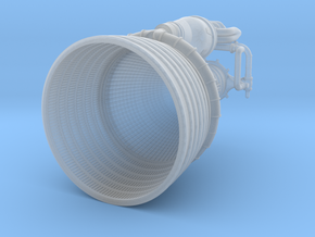 Apollo F1 Engine 1:144 in Smooth Fine Detail Plastic