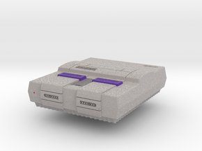 1:6 Super Nintendo Entertainment System in Full Color Sandstone