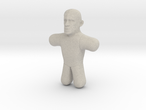 Obama Voodoo Doll in Natural Sandstone