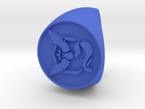 Team Mystic Signet US 9 in Blue Processed Versatile Plastic