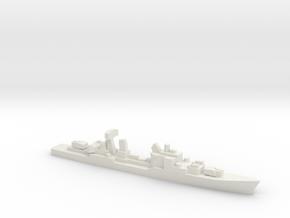 Friesland-class destroyer, 1/3000 in White Natural Versatile Plastic